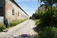 Weg Dorf